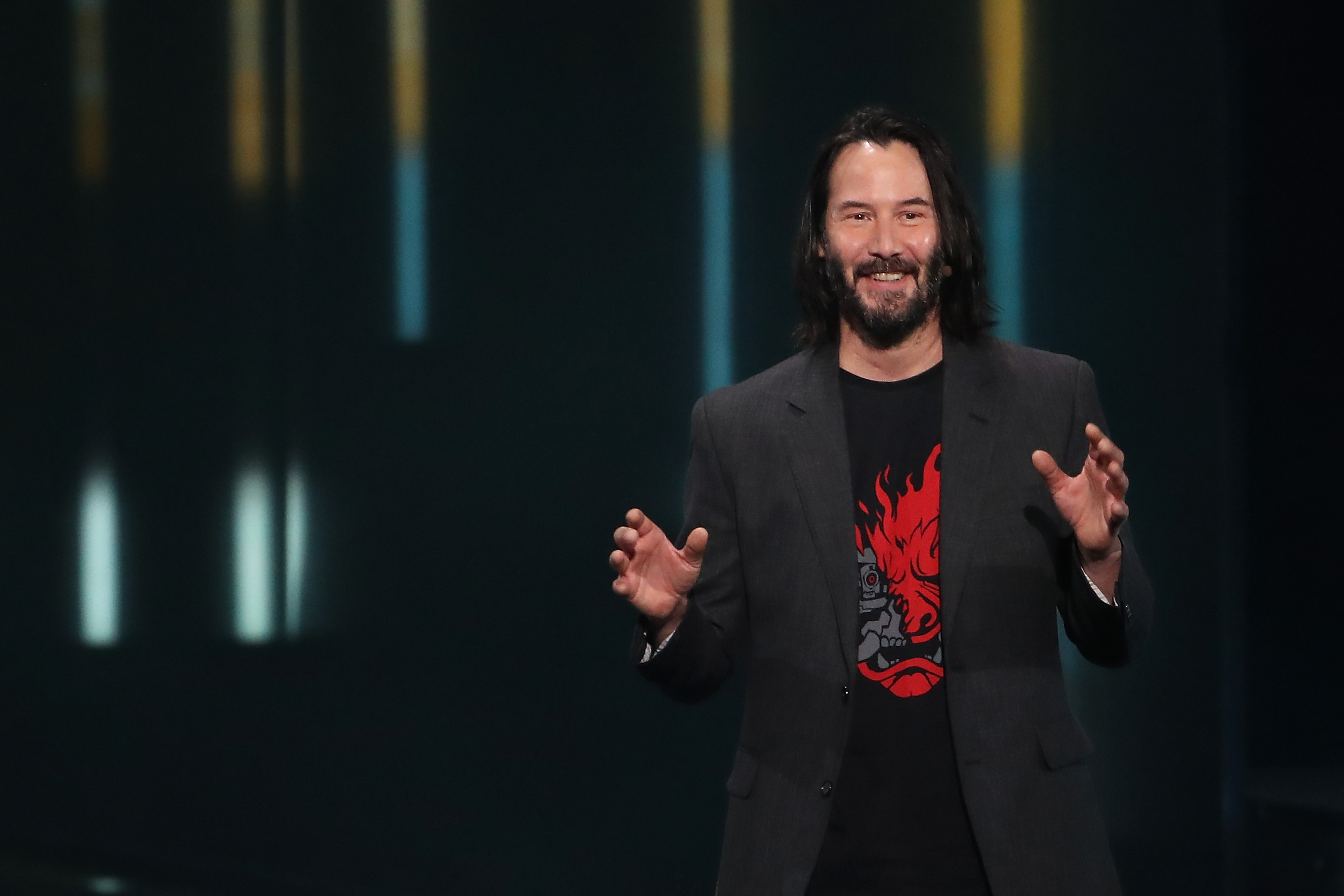 Unique 'Matrix' Movie Space With Keanu Reeves And Lana Wachowski thumbnail