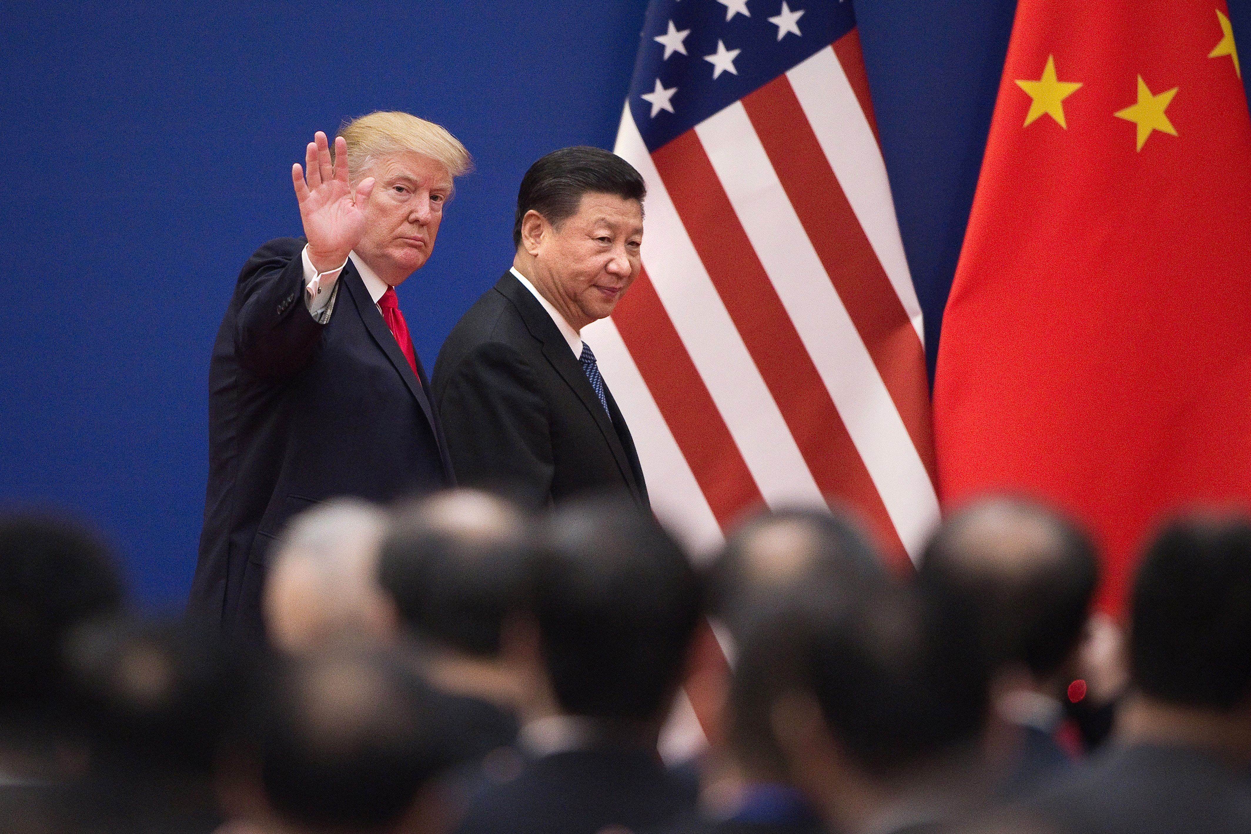 Trump Claims He Has 'Absolute Upright' To Say U.S. Firms Out Of China Under 1977 Guidelines thumbnail