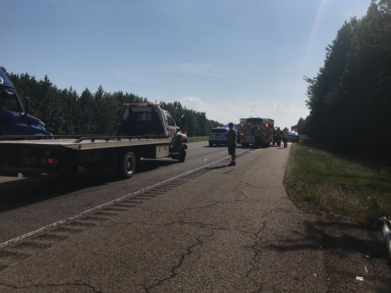 Motorcycle Accident On I-40 In Crawford County Stops Traffic For