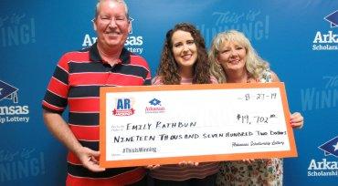 Arkansas Man Buys Lottery Tickets To Break $100 Bill, Wins