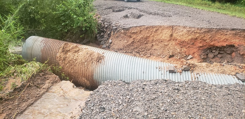 Old Graphic Road near Mulberry (Courtesy of Matthew and Natasha Griffin)