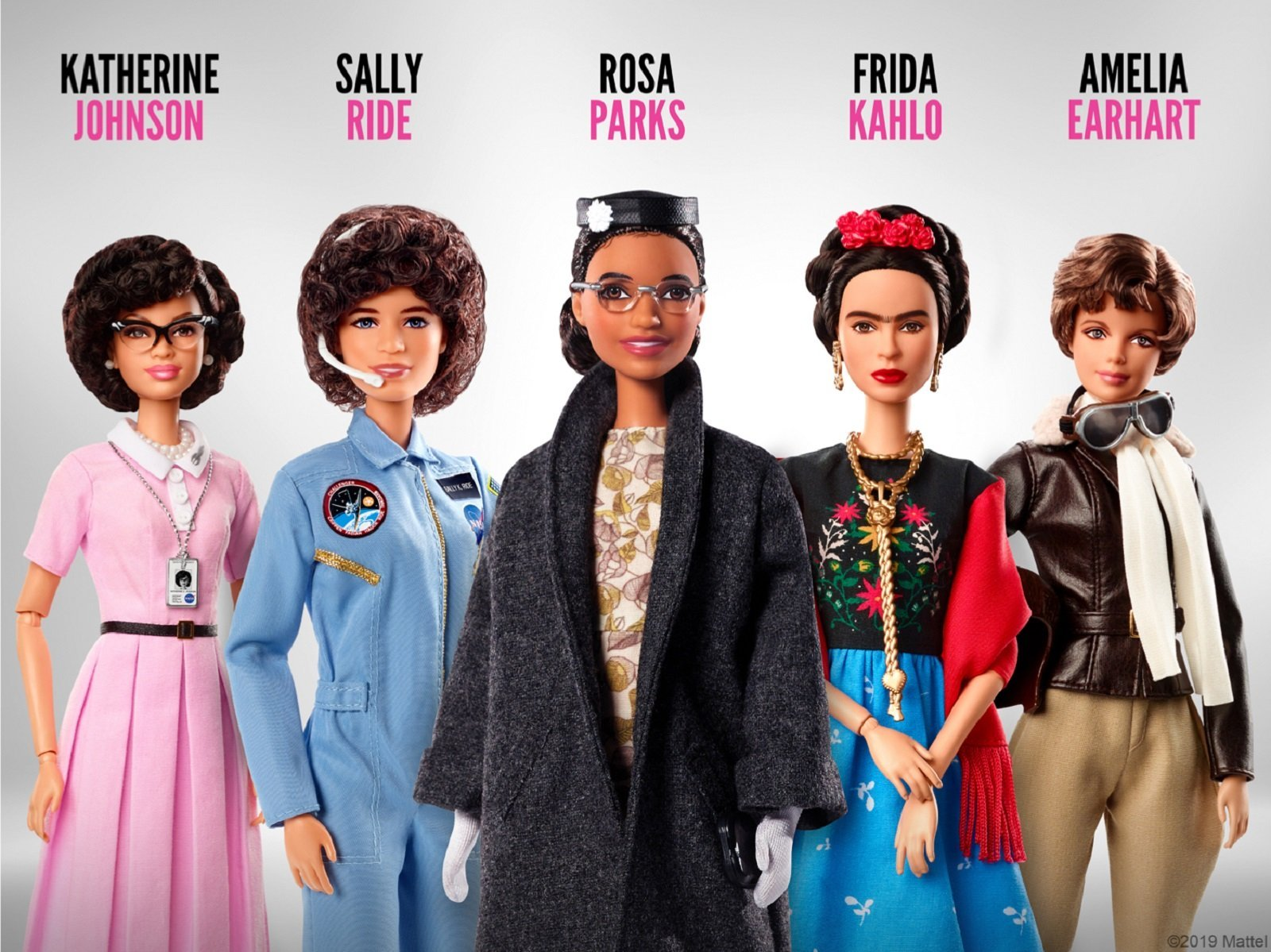 """""""Women's Equality Day celebrates the hard-won achievement of women's suffrage and pays tribute to the trailblazers who paved the way for future generations,"""" the Mattel spokesperson said."""