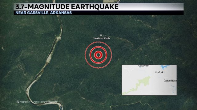 Many In Northern Arkansas Shaken By Early Morning, 3.7-Magnitude Earthquake
