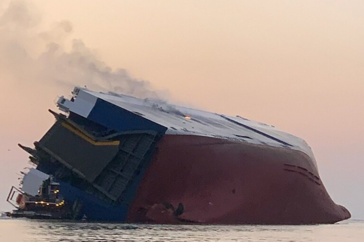 Four Crew Members Are Missing From A Cargo Ship That's