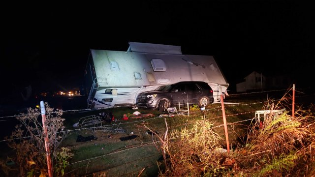 Storms Tear Through Northwest Arkansas; 1 Fatality Reported