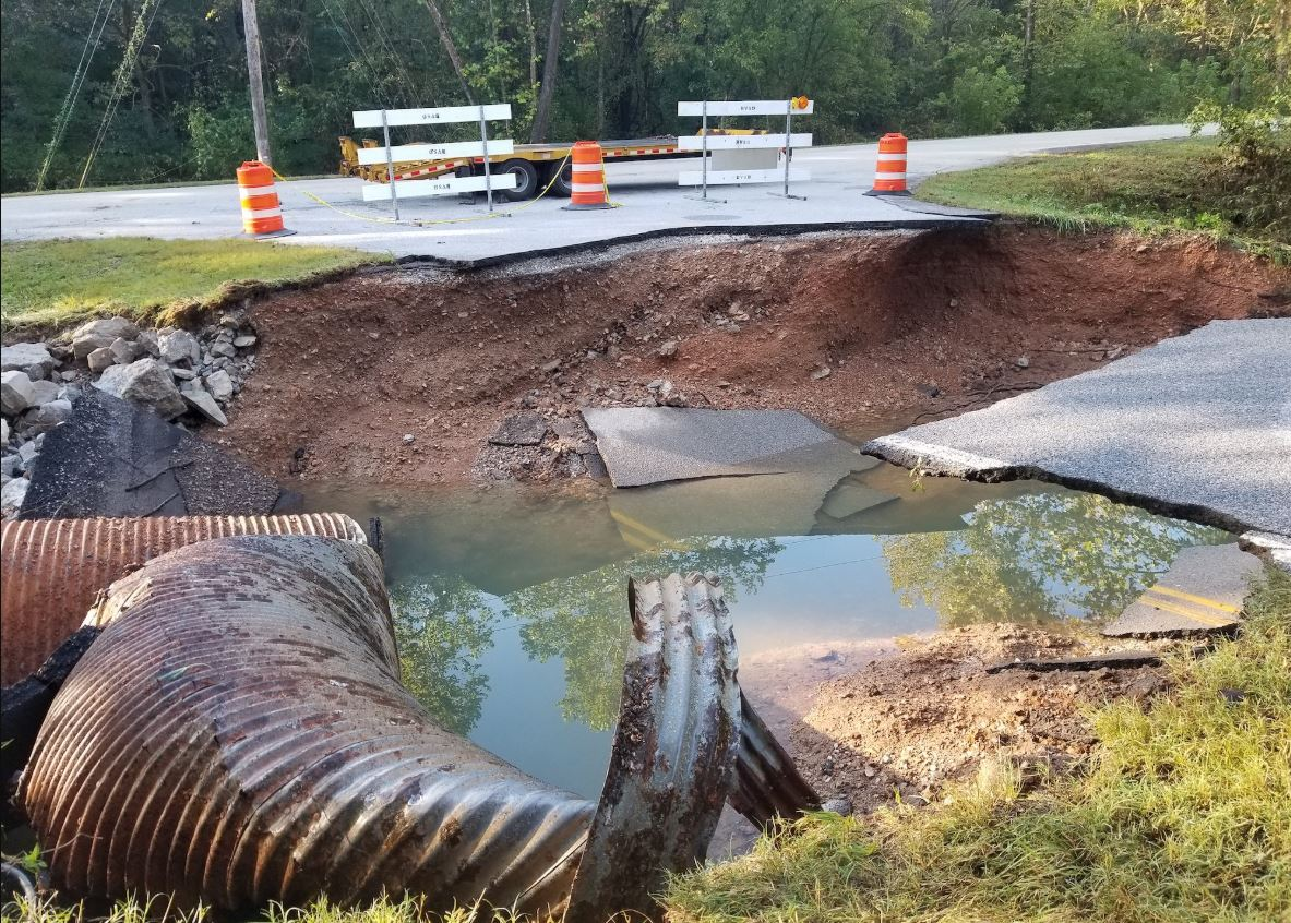 Highland Rd. (photo courtesy of the City of Bella Vista)