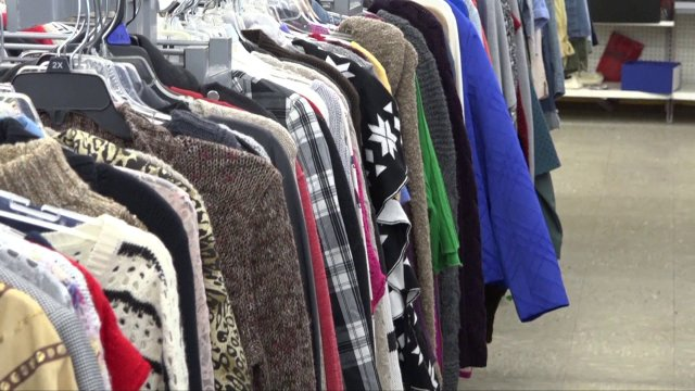 NWA Women's Shelter Thrift Store Stock Up On Winter Coats For People In Need