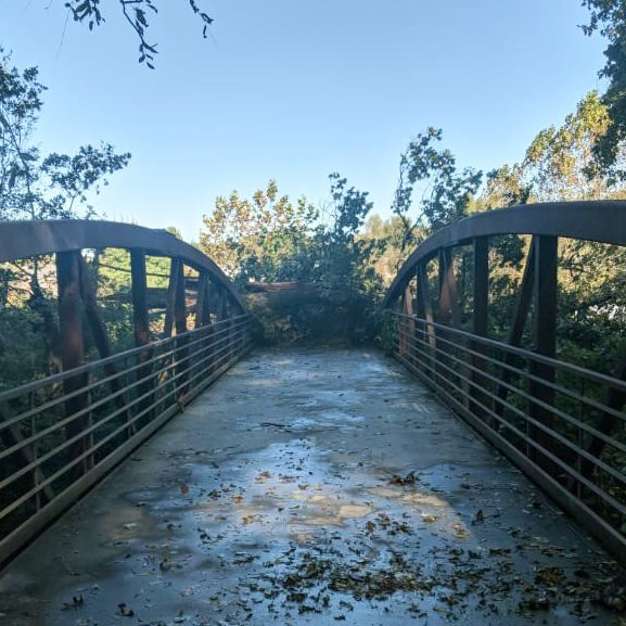 Clear Creek Trail (Photo courtesy of the City of Fayetteville)