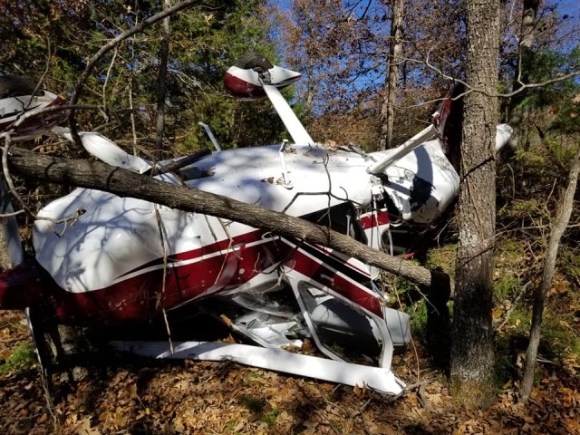 Small Airplane Crashes In Huntsville