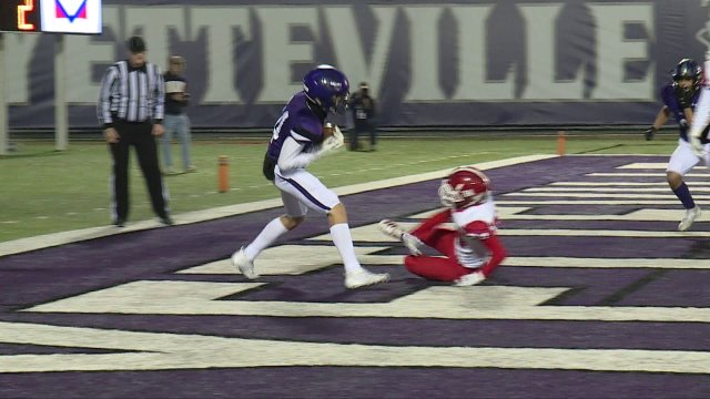Fayetteville Flattens Cabot In Playoff Opener
