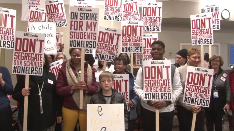 Little Rock Teachers Strike Over State's Control Of District