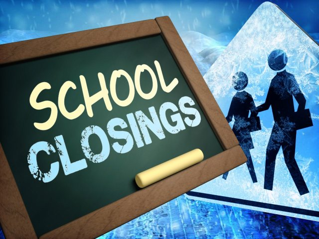 Schools Closing Early Across The Area Due To Winter Weather