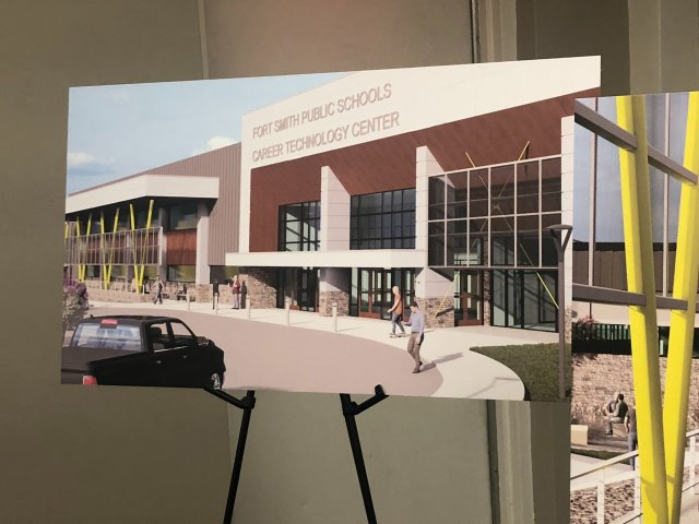 Gov. Hutchinson In Fort Smith For Announcement On School Workforce Development Program