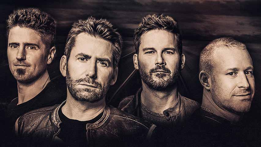 Nickelback to perform at DTE Energy Music Theatre in July