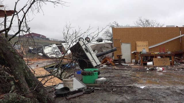 Gov. Hutchinson Declares State Of Emergency After Severe Storms In Arkansas