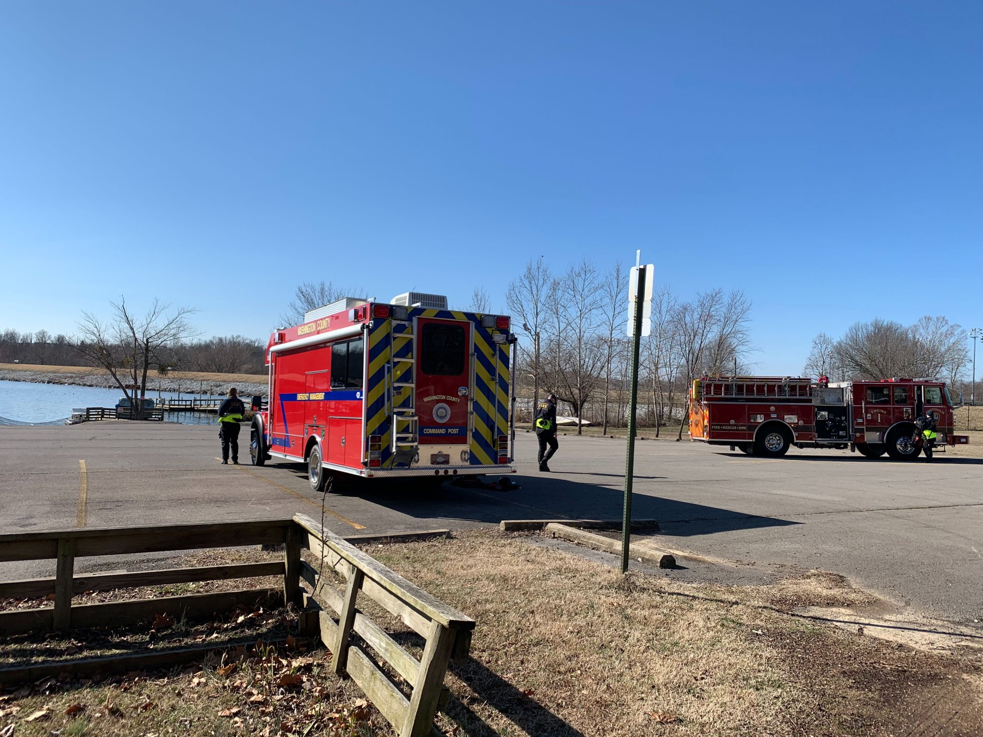 Fayetteville Fire Department joins the searching for a missing Springdale man.